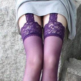 不可拆卸吊带丝袜 高筒长筒袜