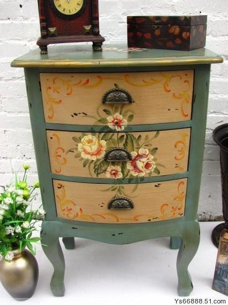 丽斯做旧手绘家具