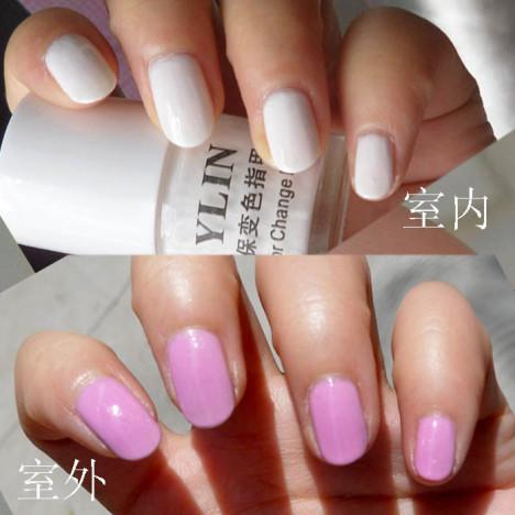 淡粉红指甲油搭配图片