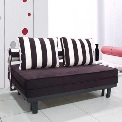 多功能双人折叠沙发床布艺1.5米1.8米抽拉式