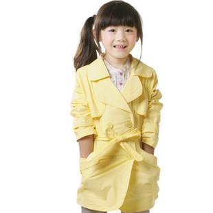 女童春装连衣裙套装_女童春装风衣