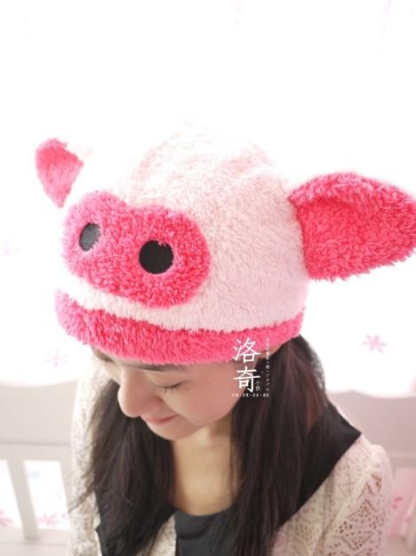 可爱动物耳朵 儿童棉帽子