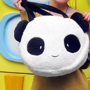 【图】网友推荐单品:韩版超萌可爱熊猫小兔子斜挎包手