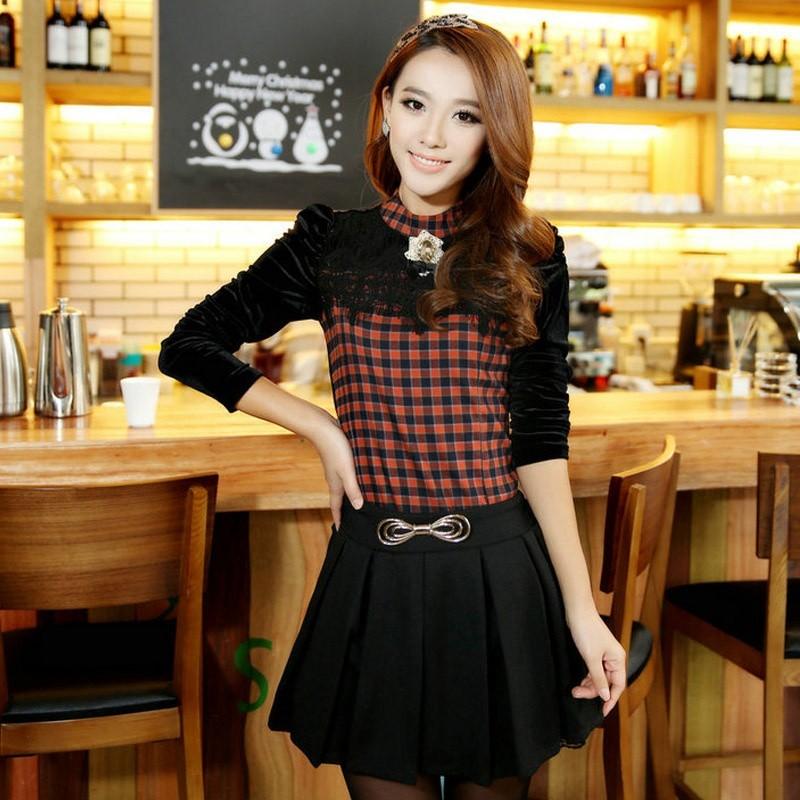 针织套裙两件套韩国搭配