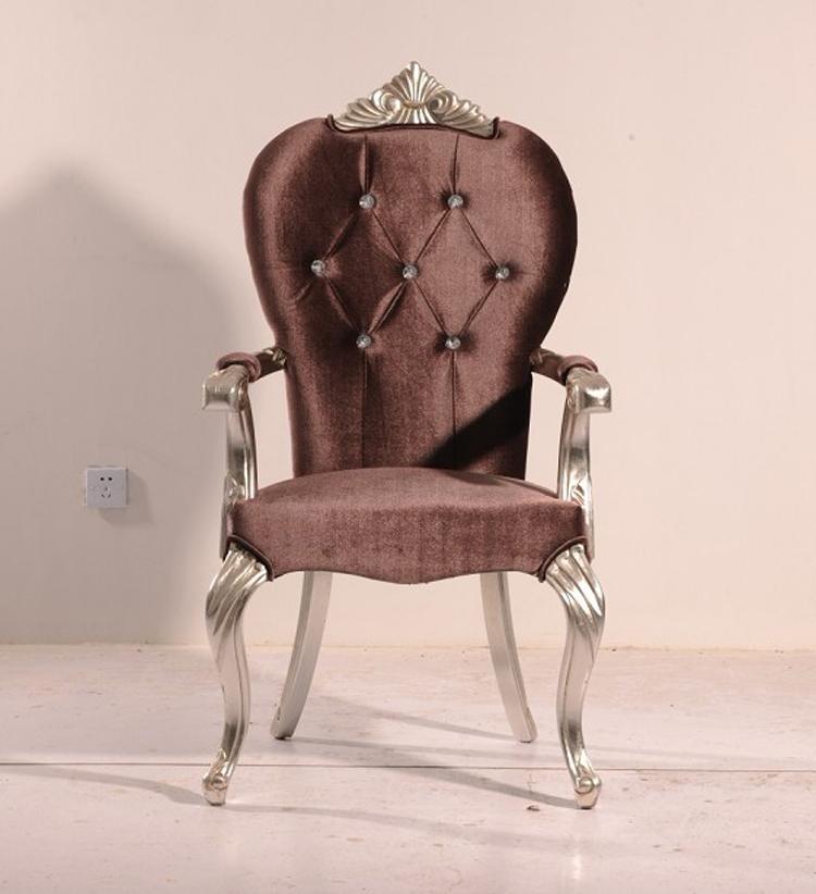 新古典椅子后现代扶手餐椅客厅餐凳欧式休闲沙发椅酒店工程家具