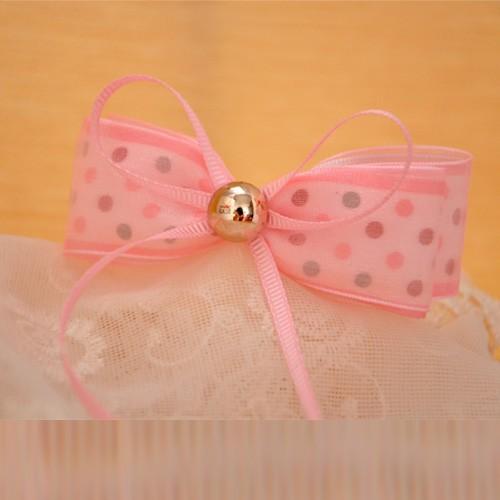 手工蝴蝶结儿童发饰女童小女孩可爱头饰发夹飘带