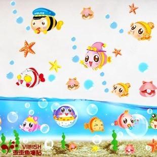 幼儿园教室海底世界设计图片