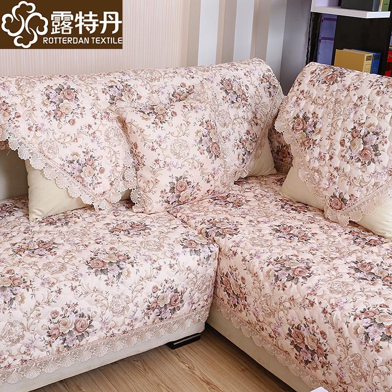 新款亚麻沙发垫欧式高档布艺防滑皮沙发坐垫四季通用沙发套巾定做