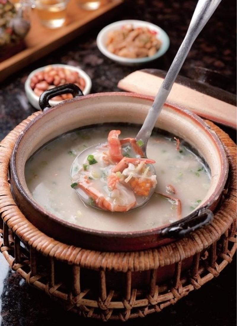 美食# 暖暖一碗潮汕海鲜粥 - 蘑菇街