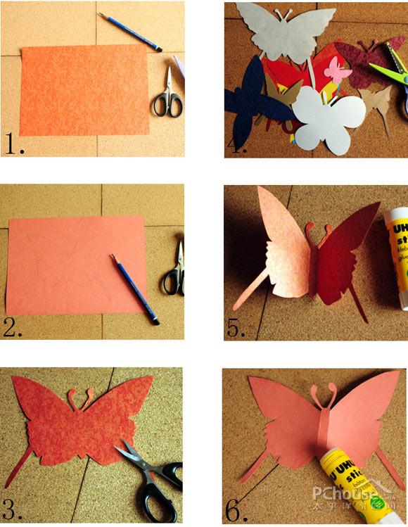 diy#diy步骤详解:准备工具:剪刀,花边剪,各种材质的彩纸