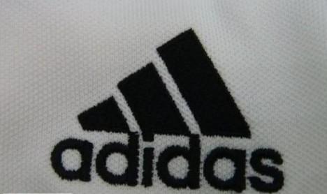 接下来死adidas服饰logo鉴别 先上几个正品图正品AD的LOGO做工,