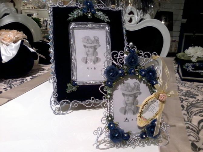 欧式复古铁艺公主宫廷婚纱照相片框