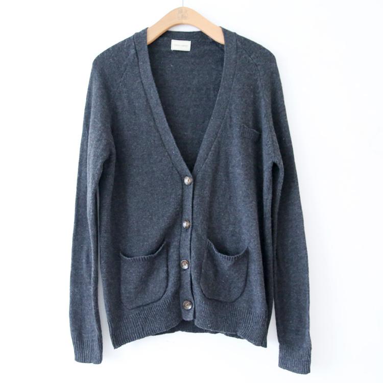 薄款针织开衫外套