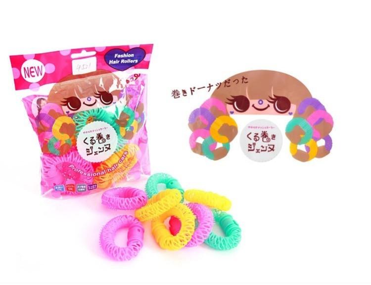 【甜甜圈卷发器神器】-配饰-女士配饰