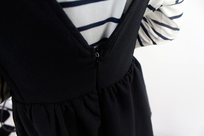 【黑色背带裙】-衣服-裙子