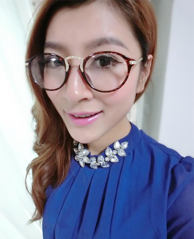 【韩版精致时尚气质女生眼镜框】-配饰-女士配饰