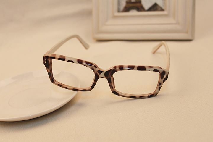 框架眼镜无镜片女款