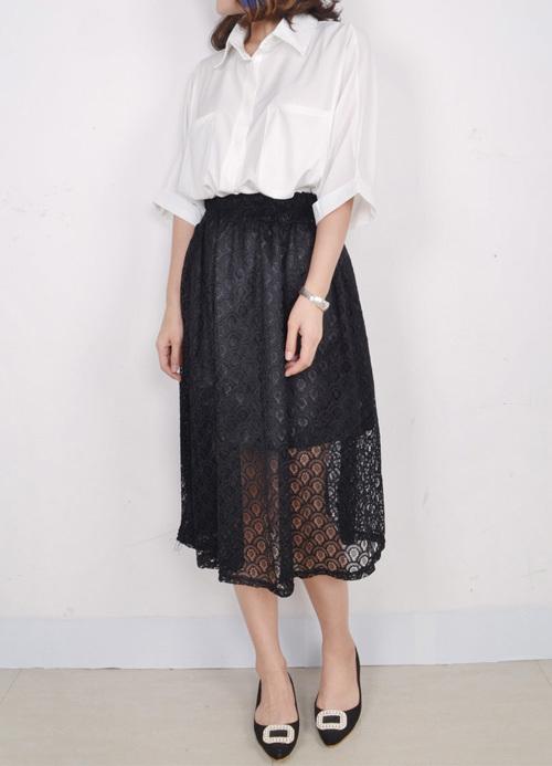 【蕾丝半身裙】-衣服-半身裙_裙子_服饰鞋包_女装-大