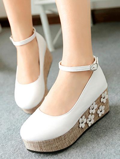 圆头鞋,高跟鞋,坡跟鞋,厚底鞋,小个子