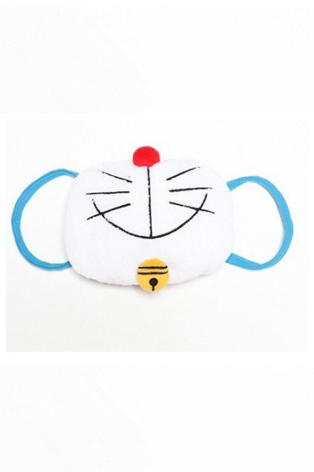 日本可爱立体双层棉卡通口罩