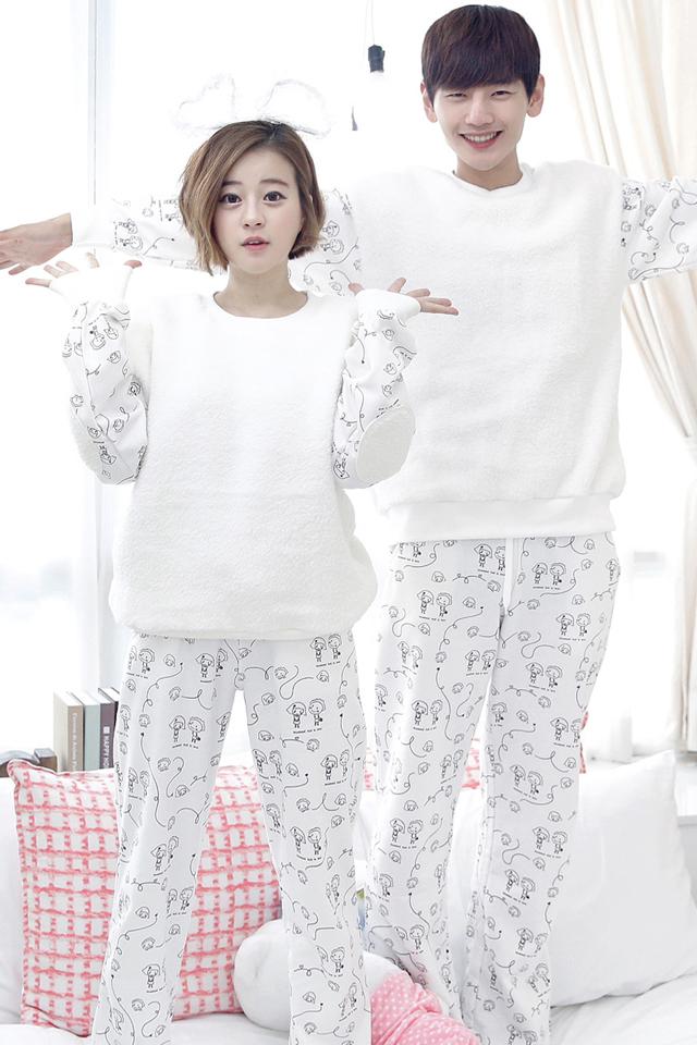 韩国小人抠图素材 情侣结婚