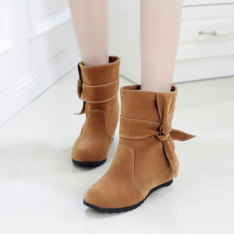 【《洛丽塔》新品百搭学院女短靴】-鞋子-靴子_女鞋