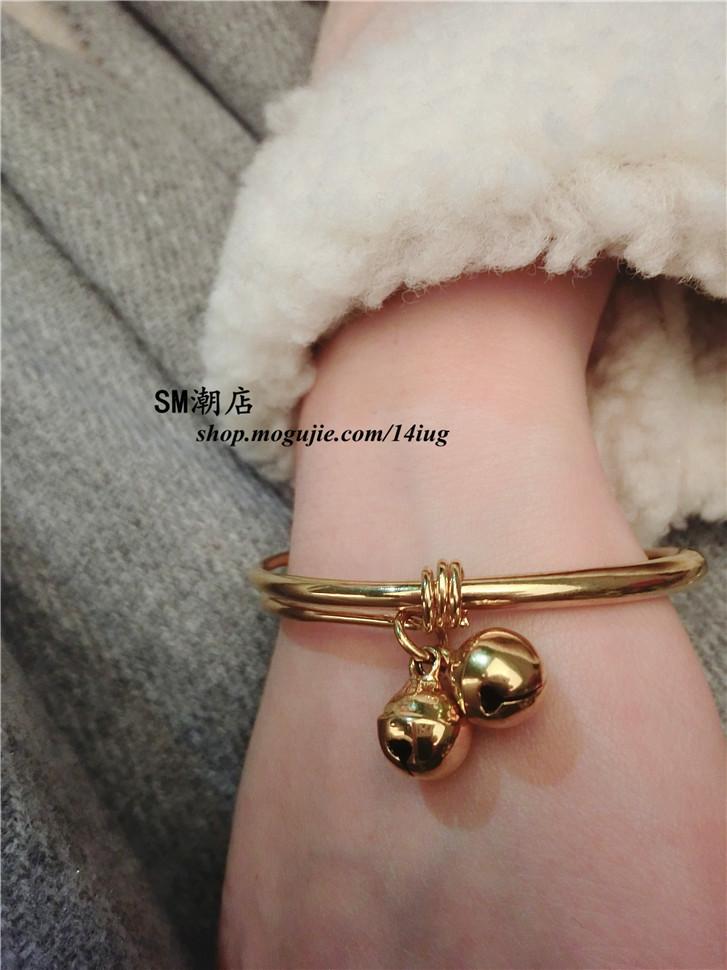 韩国新款可爱铃铛手镯