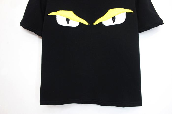 韩国学院风可爱两只眼睛短袖t恤