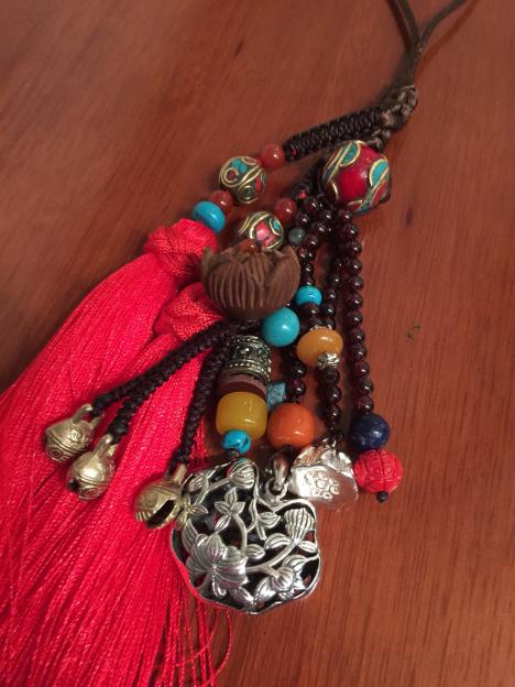 手工编织,尼泊尔,车挂,饰品