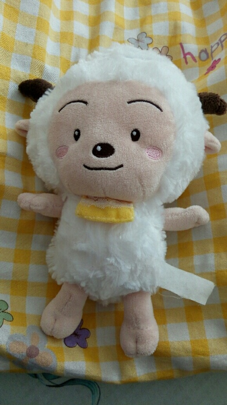 很可爱的懒羊羊,九成新哦