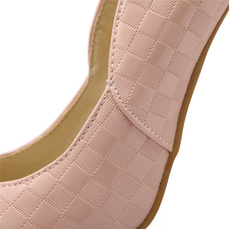 【【灰菇凉】浅粉色轻淑高跟鞋】-鞋子-单鞋