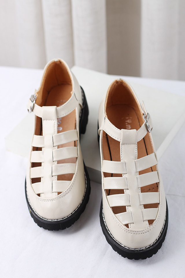 【英伦复古编织凉鞋】-鞋子-凉鞋_女鞋_服饰鞋包-猫猫