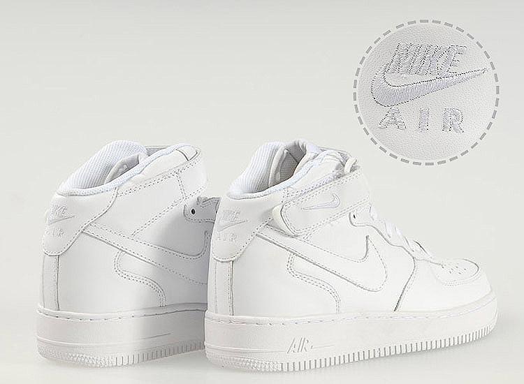 空军一号黑白男女板鞋