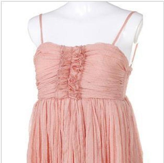 褶皱花边 连衣裙】-衣服-裙子