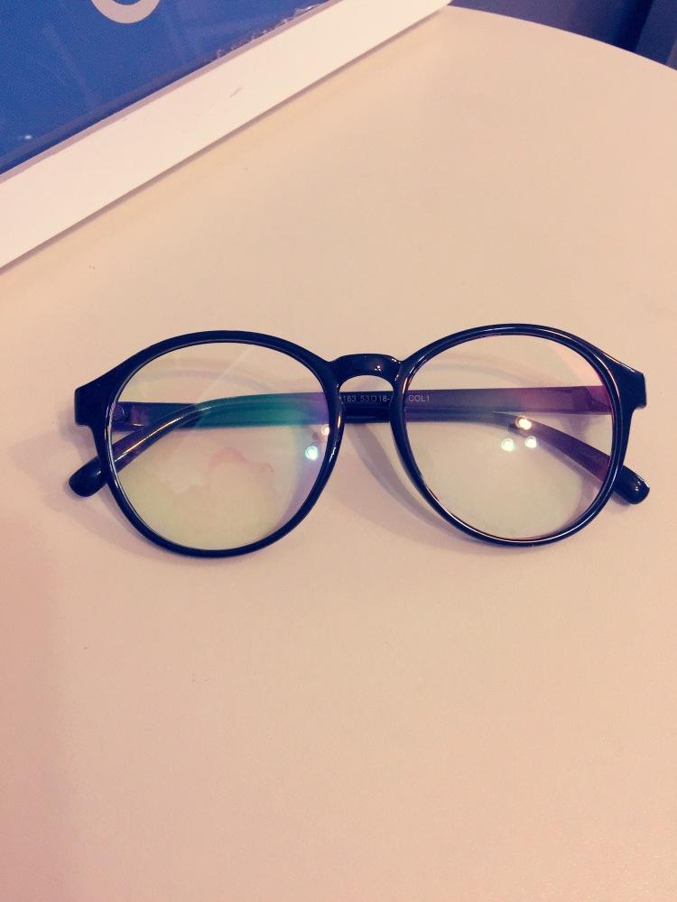 【韩版复古圆形眼镜架】-配饰-女士配饰_配饰_框架-新
