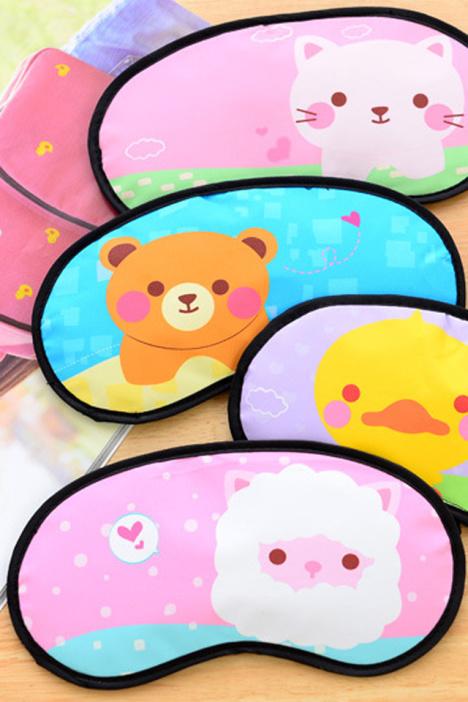 韩国可爱卡通冰敷眼罩