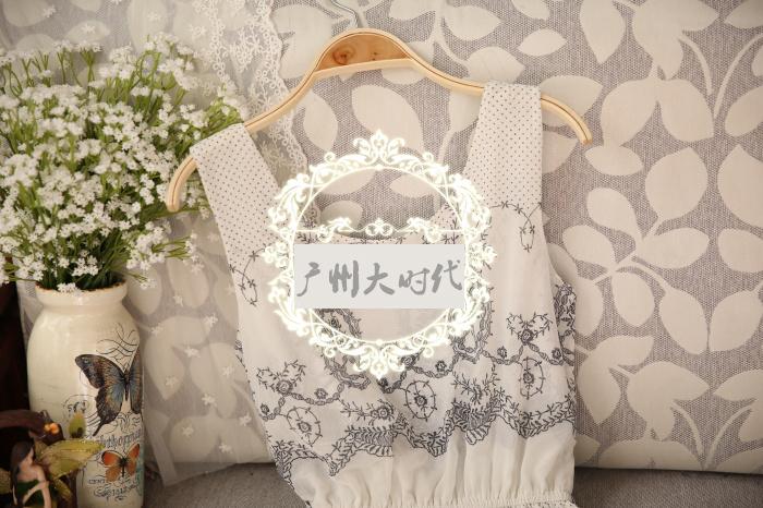 【波西米亚花纹连衣裙】-衣服-裙子