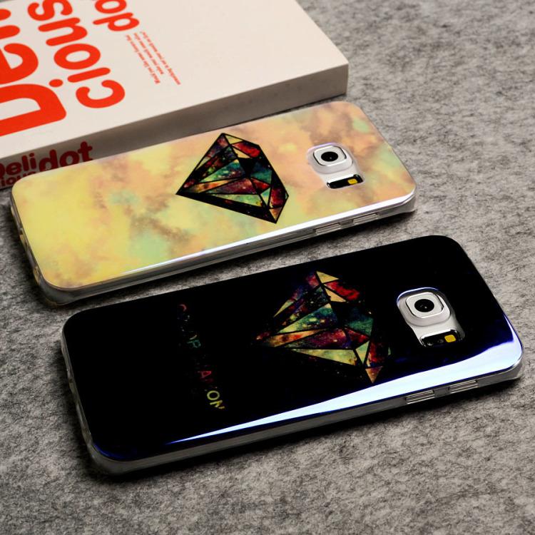 钻石全包蓝光防摔三星手机壳
