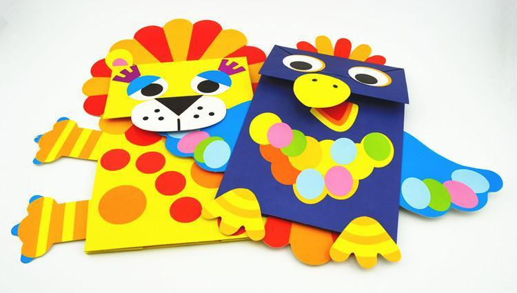 幼儿园diy儿童手工制作早教创