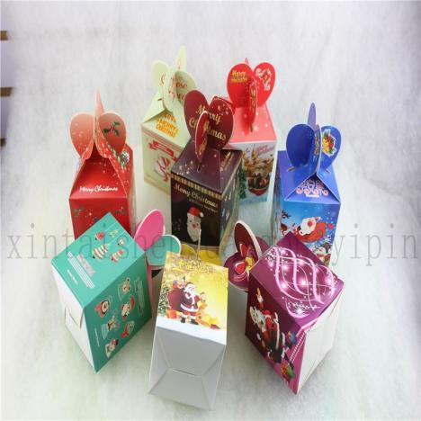 【圣诞苹果盒 圣诞苹果包装盒
