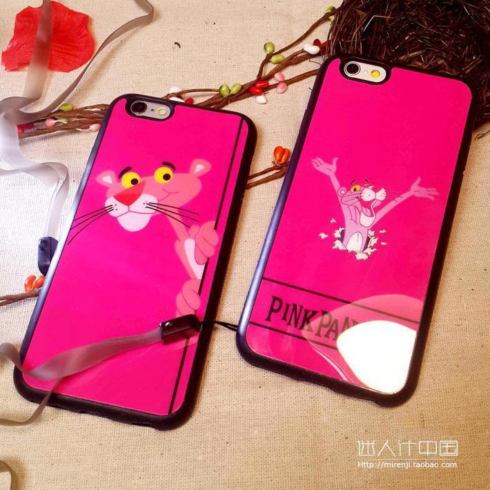 硅胶开心豹手机壳苹果iphone66plusplus66ss55s全包卡通手机壳挂绳重型大折叠门图片