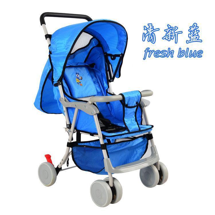 轻便婴儿车简易折叠易携带儿童推车可坐可躺宝宝车
