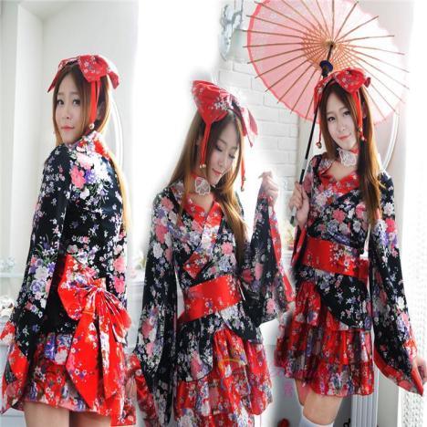全套重樱花cosplay动漫服装日本和服罗丽塔洛丽塔公主洋装