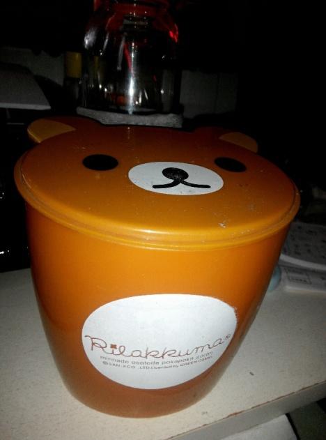 可爱小熊垃圾桶,精致小巧,值得拥有!