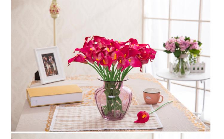 【欧式巴洛克装饰玻璃花瓶花器【不带花】】-家居
