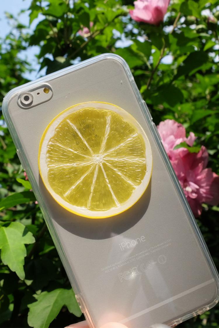 超级可爱的柠檬手机壳哦,喜欢的不要错过哦.