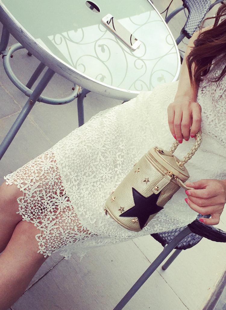 【美包记星星水桶链条小包】-包包-女包