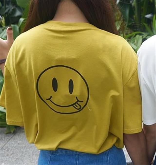 米粒家.搞怪笑脸闺蜜姐妹t恤