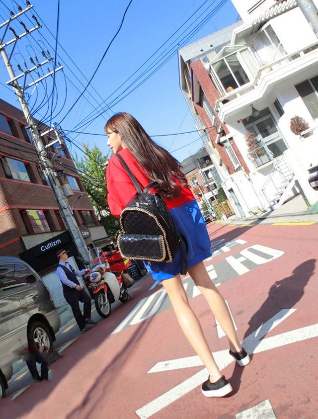 【韩国秋季新品可爱少女t恤】-衣服-服饰鞋包