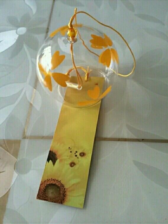 日式手绘风铃(四叶花)